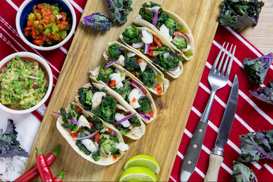 Mexican taco with fish and kalettes kalettes global kalettes mexican taco with fish and kalettes kalettes global kalettes global forumfinder Image collections